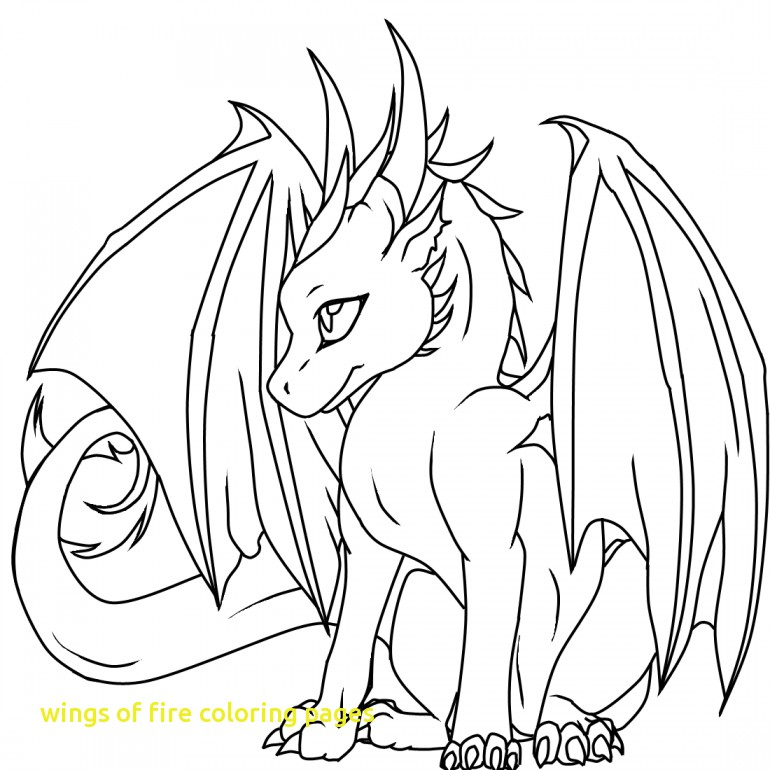 770x770 Wings Of Fire Coloring Pages With Free Coloring Pages Wings Fire
