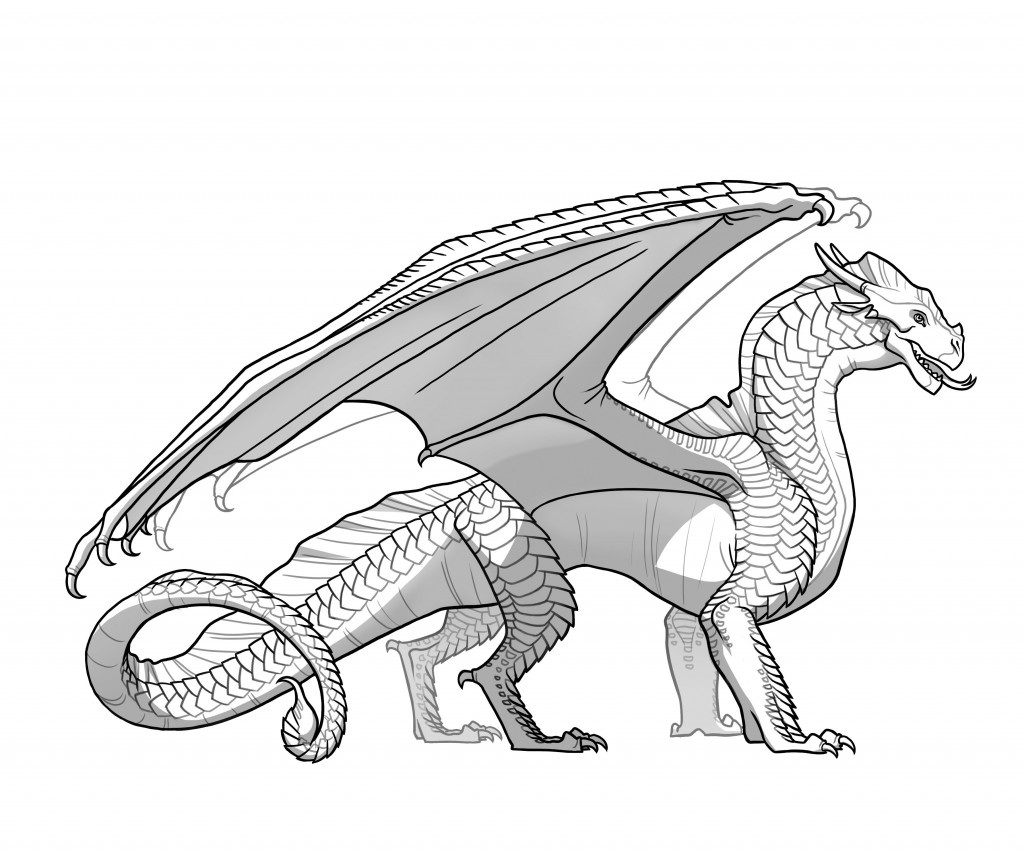 1024x853 Wings Of Fire Nightwing Coloring Pages