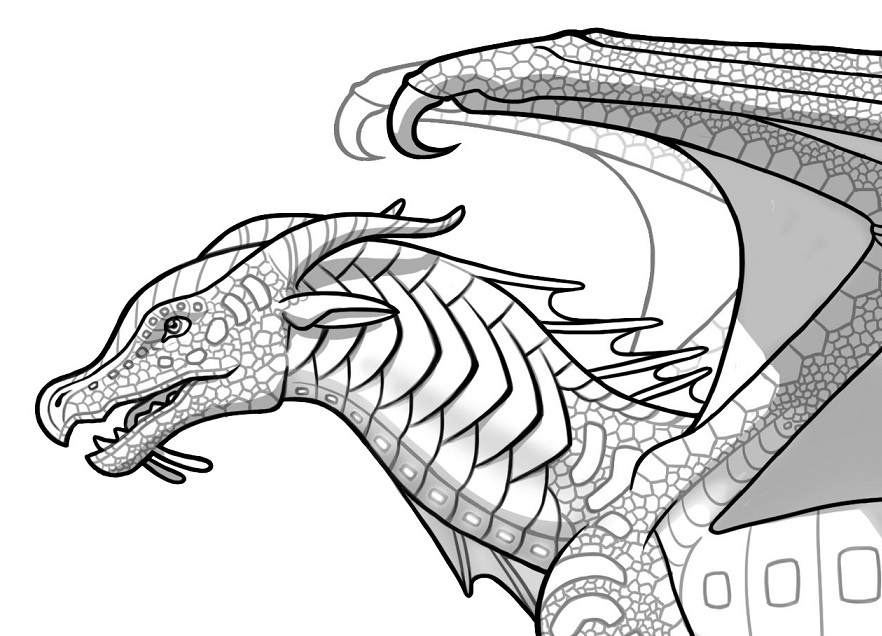Wings Of Fire Seawing Coloring Pages at GetDrawings | Free ...