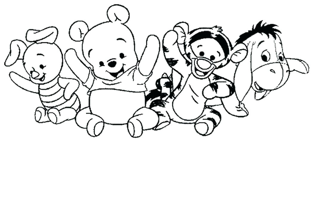 Winie The Pooh Coloring Pages
