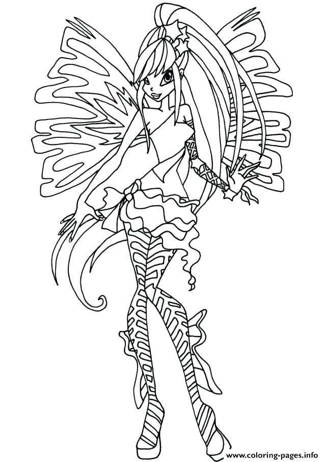 640x905 Bloom Winx Coloring Pages Club Bloom Coloring Pages Film Club