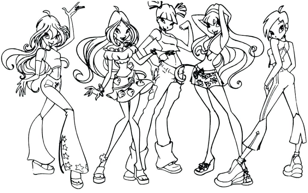 1024x642 Winx Coloring Pages