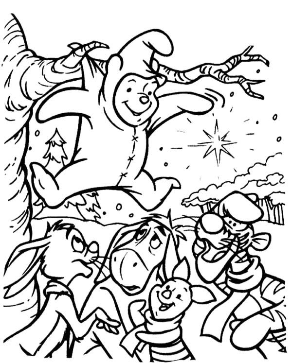 600x747 Winnie The Pooh And Friends Coloring Page Winnie The Pooh