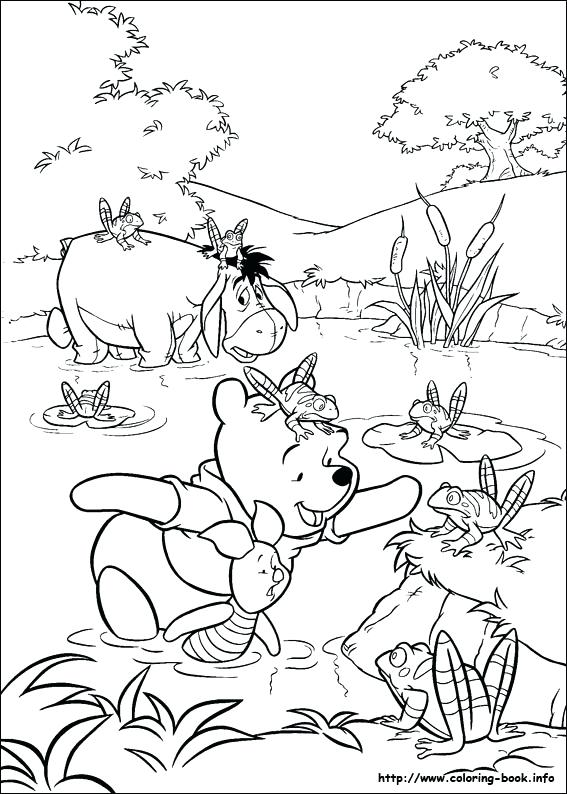 567x794 Winnie Pooh Printable Coloring Pages Free Coloring Pages