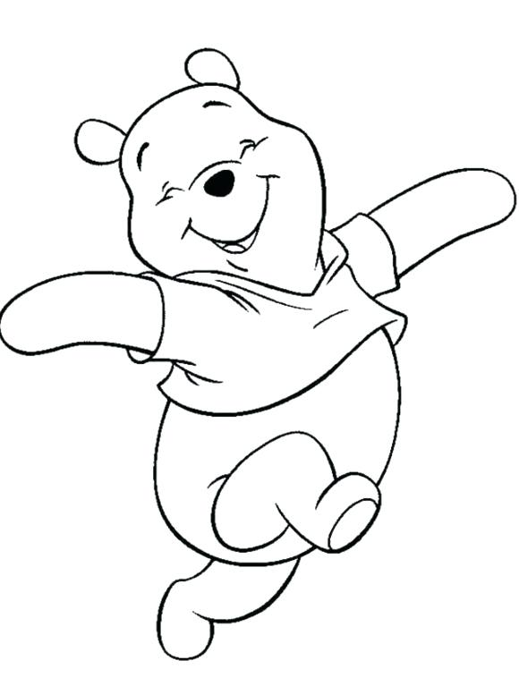 Winnie The Pooh Birthday Coloring Pages At Getdrawings Free Download