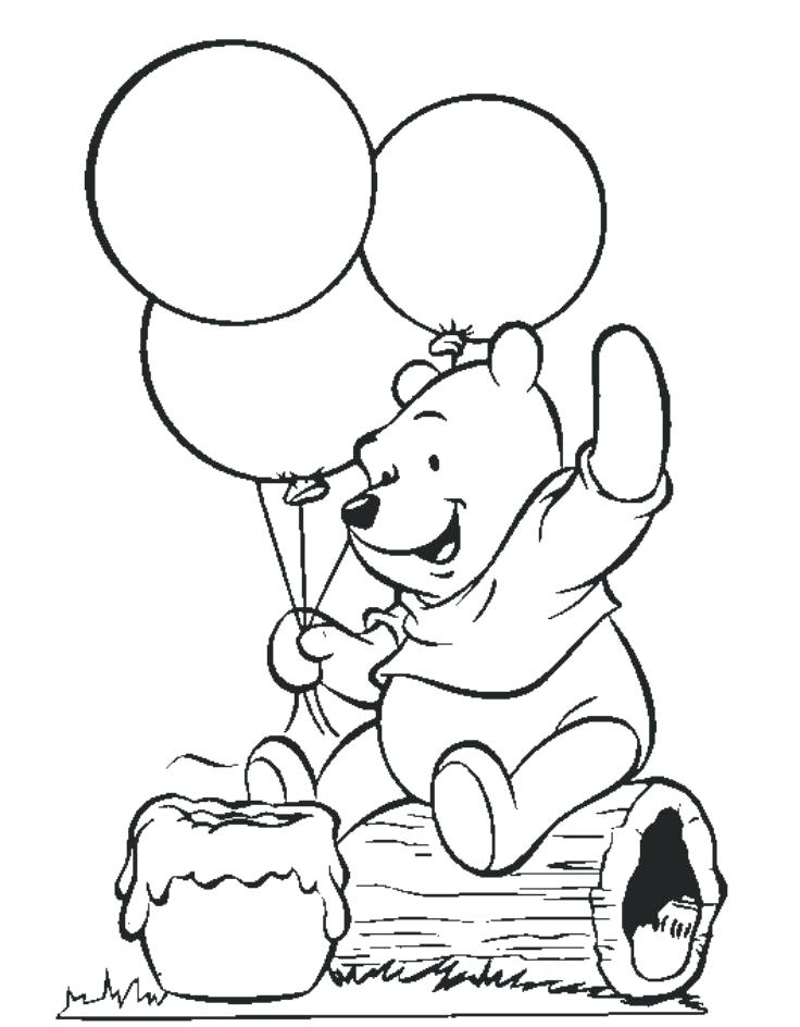 736x944 Free Winnie The Pooh Coloring Pages Free The Pooh Coloring Pages