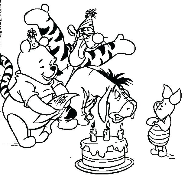 Winnie The Pooh Christmas Coloring Pages At Getdrawings Com Free