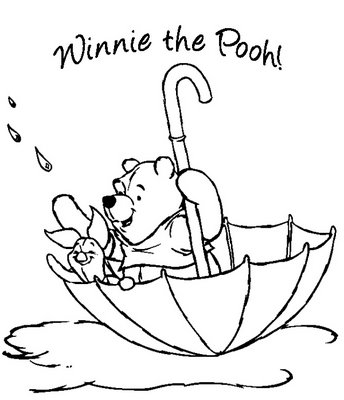 344x400 Winnie The Pooh Christmas Coloring Pages