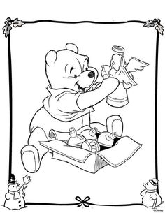 236x305 Winnie The Pooh Christmas Printables Christmas Colors, Adult