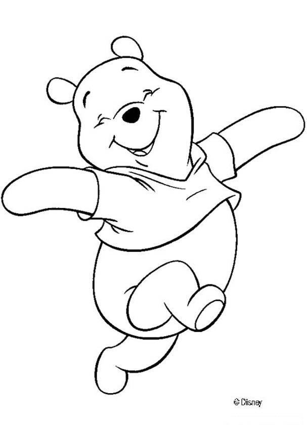 607x850 Winnie The Pooh Coloring Pages
