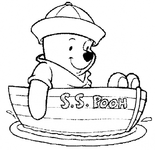 545x525 Baby Winnie The Pooh Coloring Pages