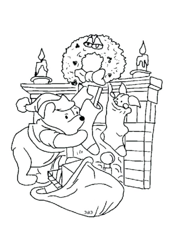 580x798 The Pooh Coloring Pages Shared