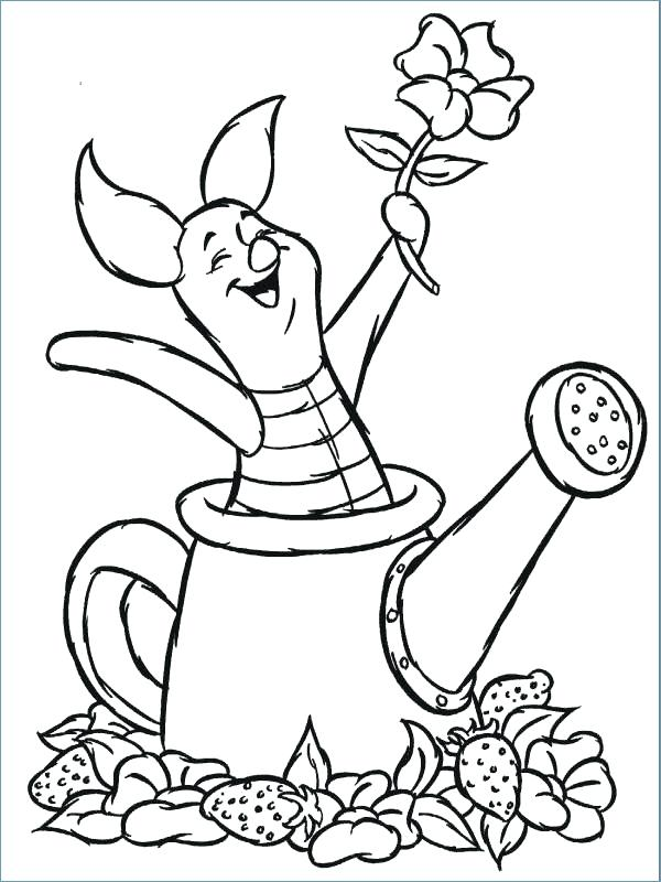 Winnie The Pooh Coloring Pages Printable - Coloring Home | 800x600