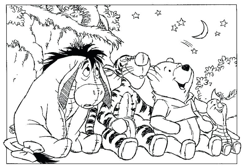 783x540 Winnie The Pooh Coloring Winnie The Pooh Coloring Pages Pdf