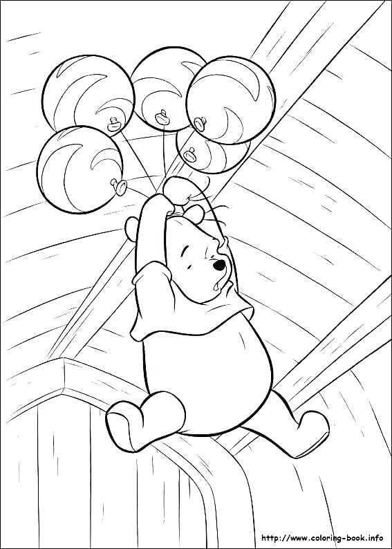 567x794 Baby Winnie The Pooh Coloring Pages Pdf Printable Coloring