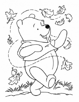 277x360 Autumn Coloring Pages Coloring Fall Leaf Sheet Free Coloring