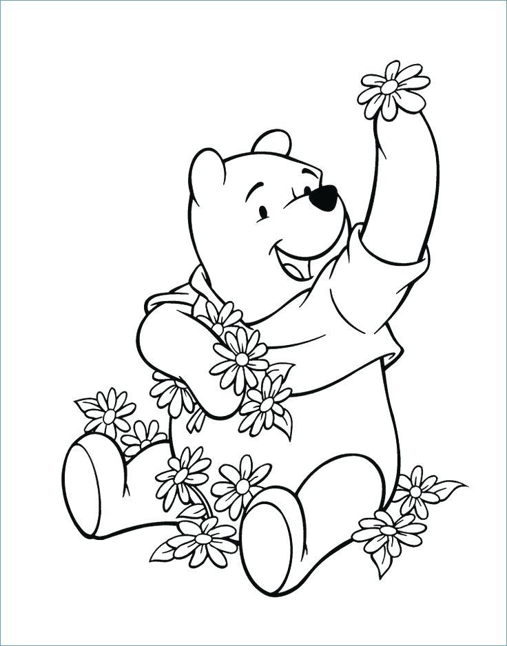 736x938 Scare Tiger Coloring Pages Best The Pooh Coloring Page Images