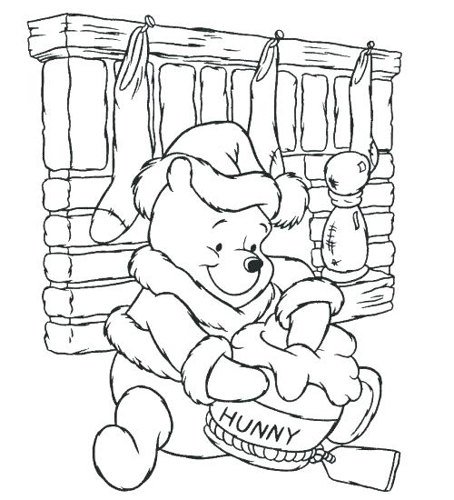 500x550 Winnie The Pooh Coloring Page Pooh Coloring Pages Pooh Color Free