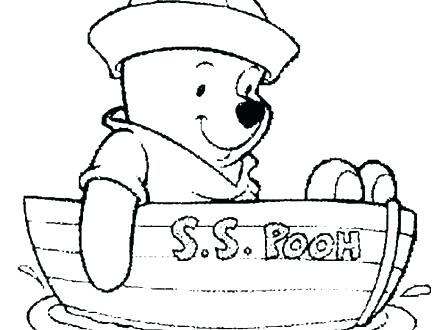 440x330 Winnie The Pooh Free Coloring Pages Coloring Pages Of The Pooh As