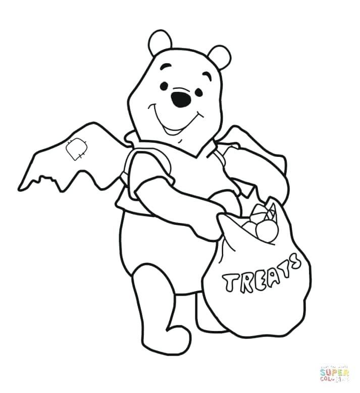 713x779 Winnie The Pooh Halloween Coloring Pages Click The The Pooh