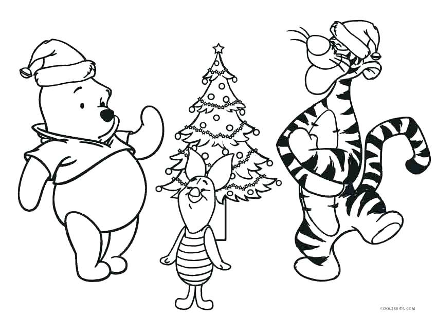 850x617 Winnie The Pooh Halloween Coloring Pages Printable Kids Coloring