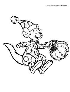 236x309 Winnie The Pooh Halloween Tigger Coloring Page