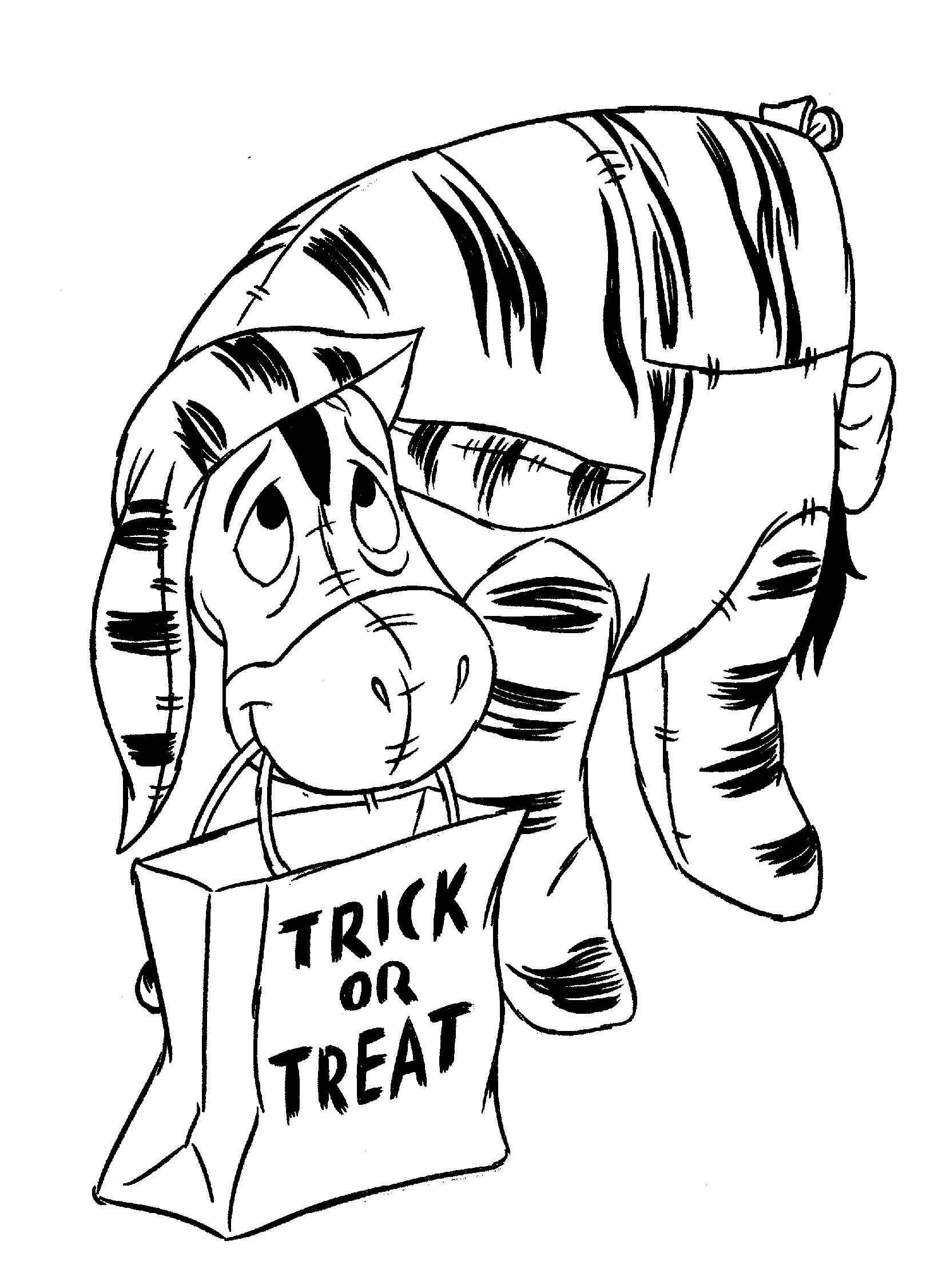 1626x2250 Coloring Page Halloween