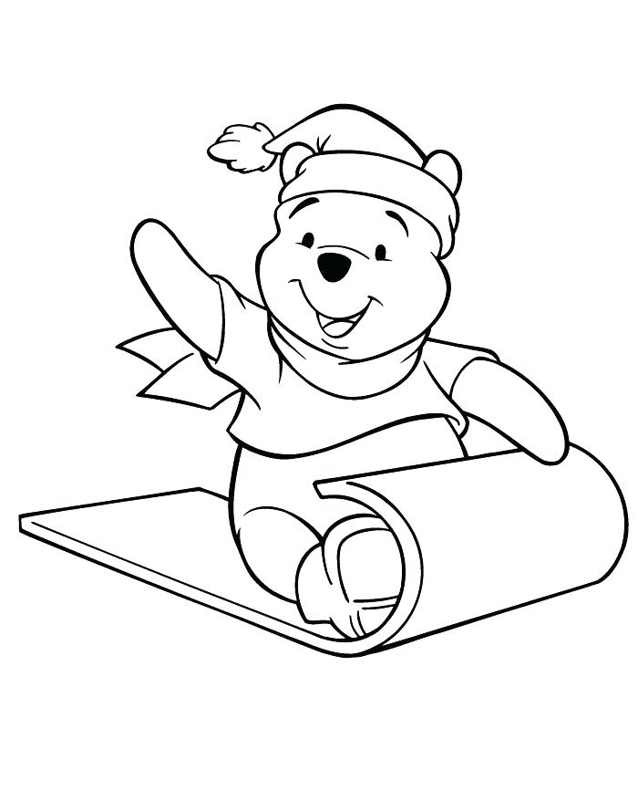 700x867 Free Winnie The Pooh Halloween Coloring Pages