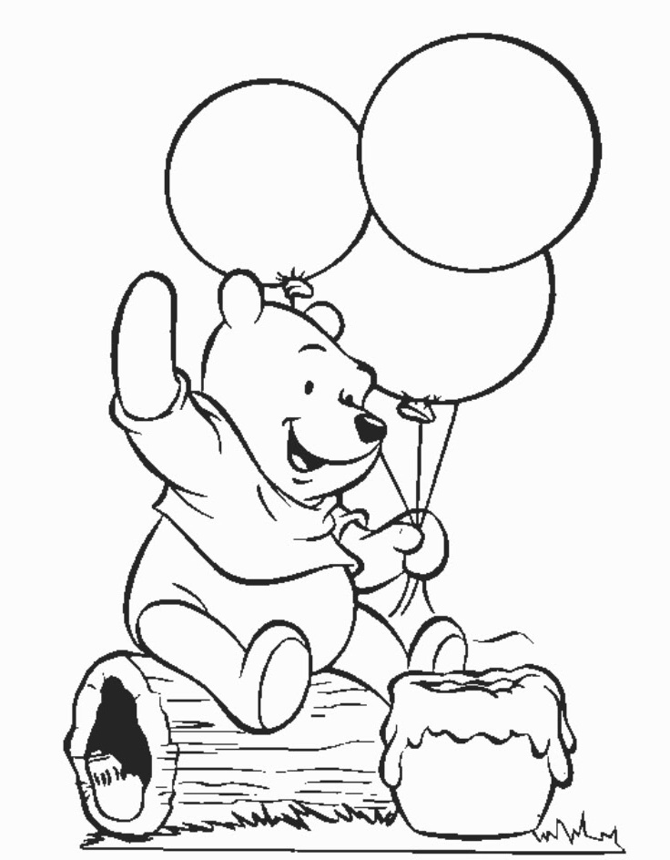 736x944 Printable Coloring Pages Winnie The Pooh Perfect Winnie The Pooh