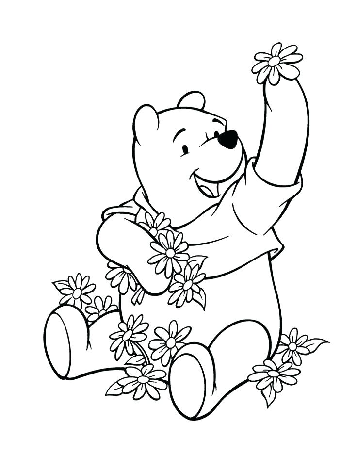 736x938 Winnie The Pooh And Friends Coloring Pages The Pooh Printable
