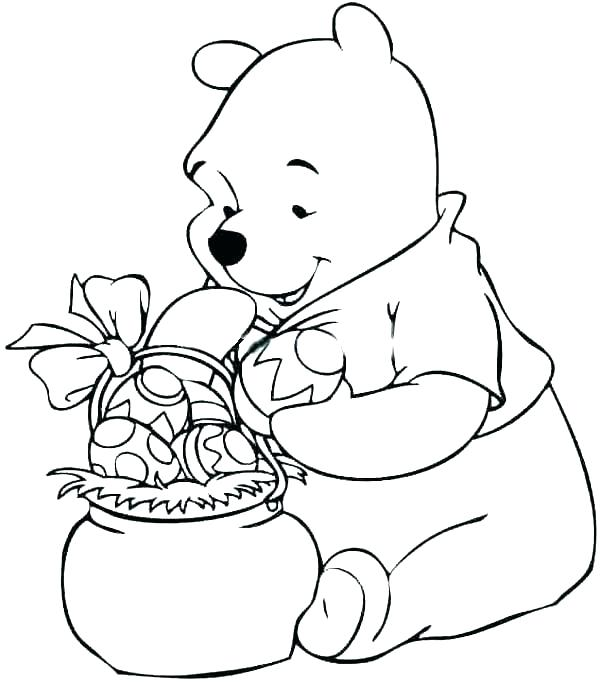 600x684 Winnie The Pooh Coloring Book The Pooh Printable Coloring Pages