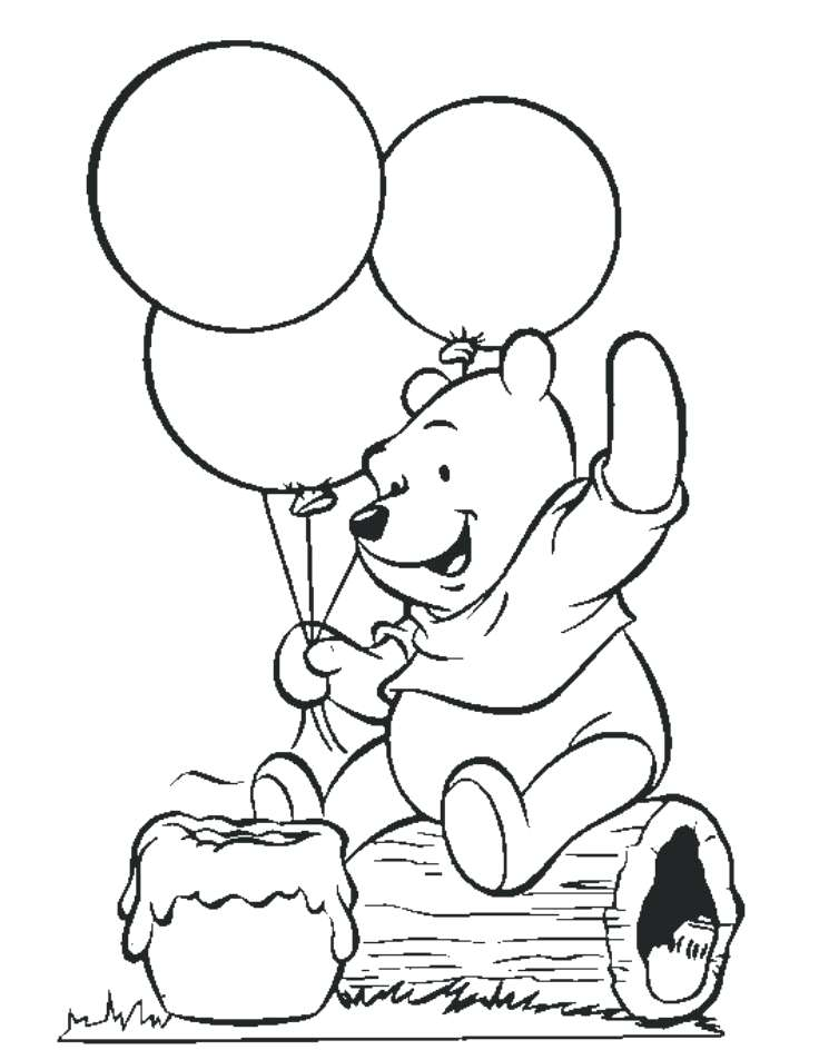 736x944 Winnie The Pooh Coloring Pages Inspirational The Pooh Color Pages