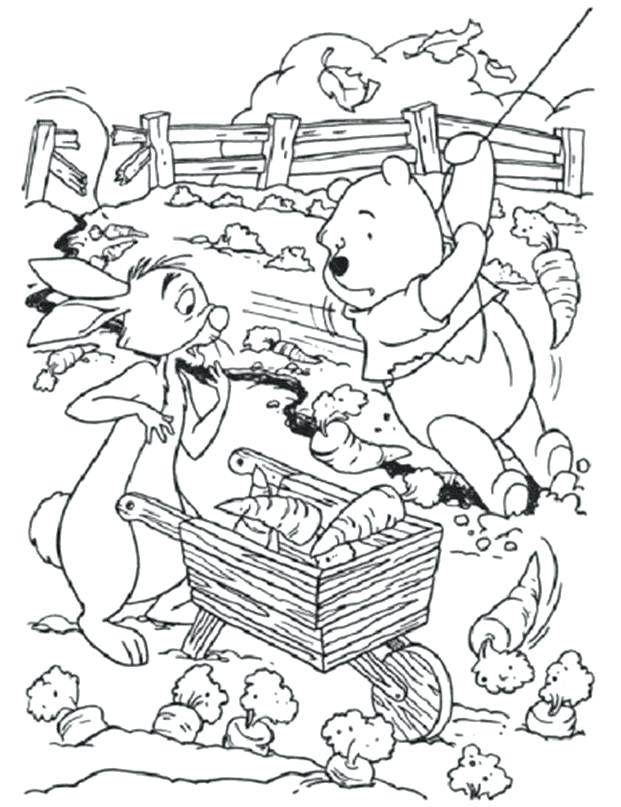 621x807 The Pooh Coloring Pages For Kids And Coloring Pages For Kids