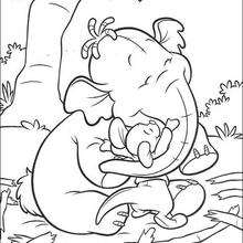 220x220 Tigger Pounces On Rabbit Coloring Pages