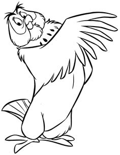 236x303 Winnie The Pooh Rabbit Coloring Page Coloring Pages