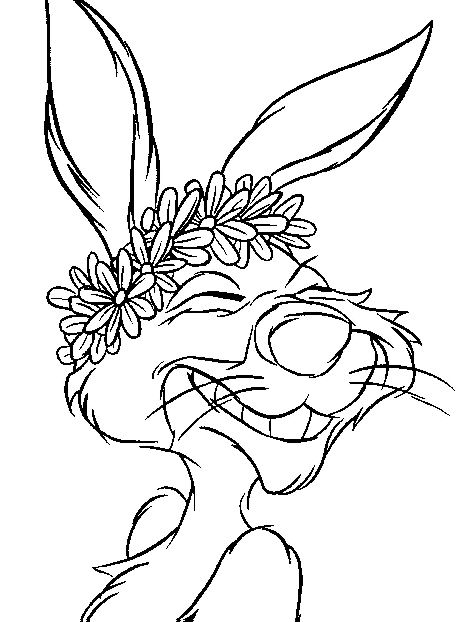 468x622 Kids N Coloring Pages Of Winnie The Pooh And Rabbit