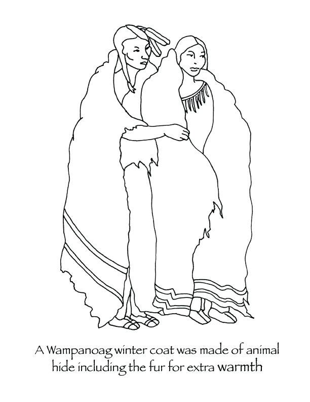 612x792 Clothing Coloring Page Winter Clothes Colouring Pages Winter