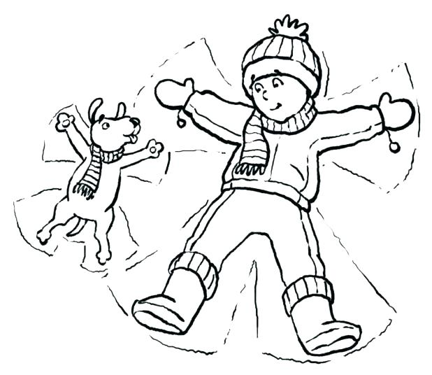618x536 Coloring Pages Of Clothes Coloring Pages For Coloring Page Winter