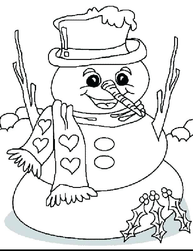 615x800 Winter Clothes Coloring Pages Printable Free Sheets Page