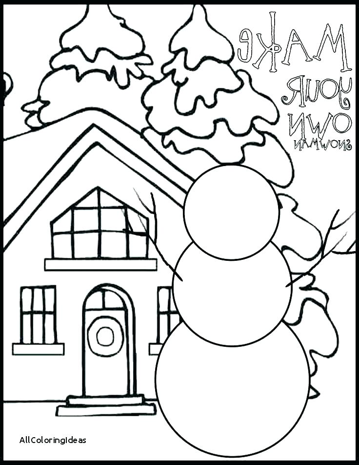 736x952 Winter Coloring Page Printable Winter Coloring Pages For Preschool
