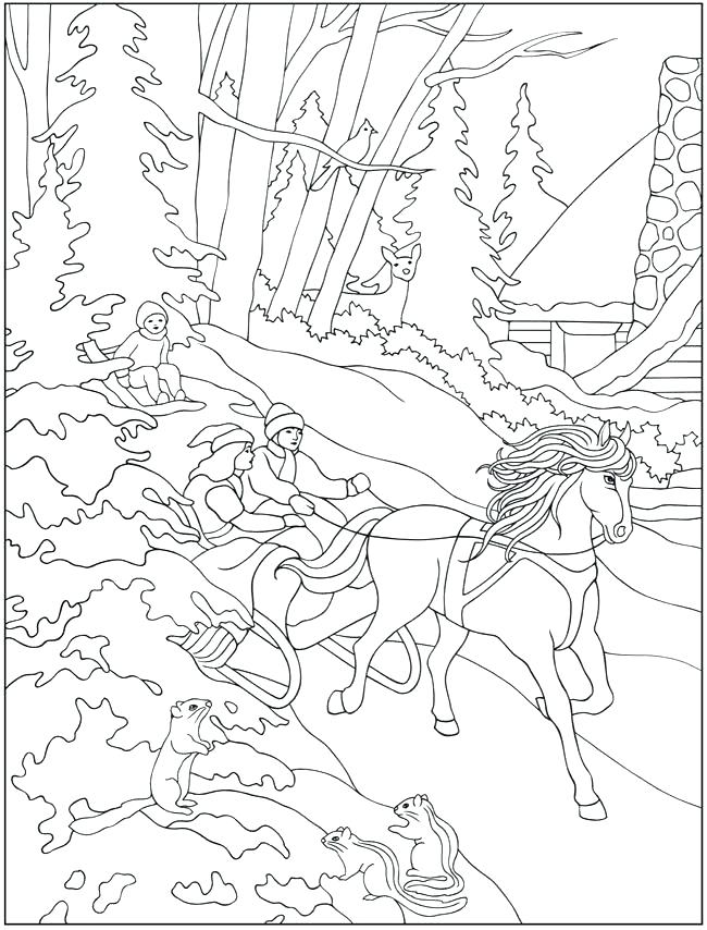 650x854 Winter Clothes Coloring Pages Warm Jacket In Winter Clothing