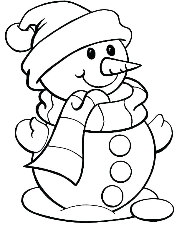 601x768 Clothes Coloring Pages Printable Free Winter Page Se