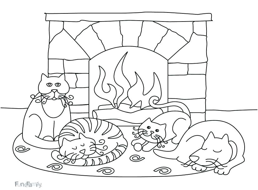 827x609 Joy Of Winter Coloring Pages