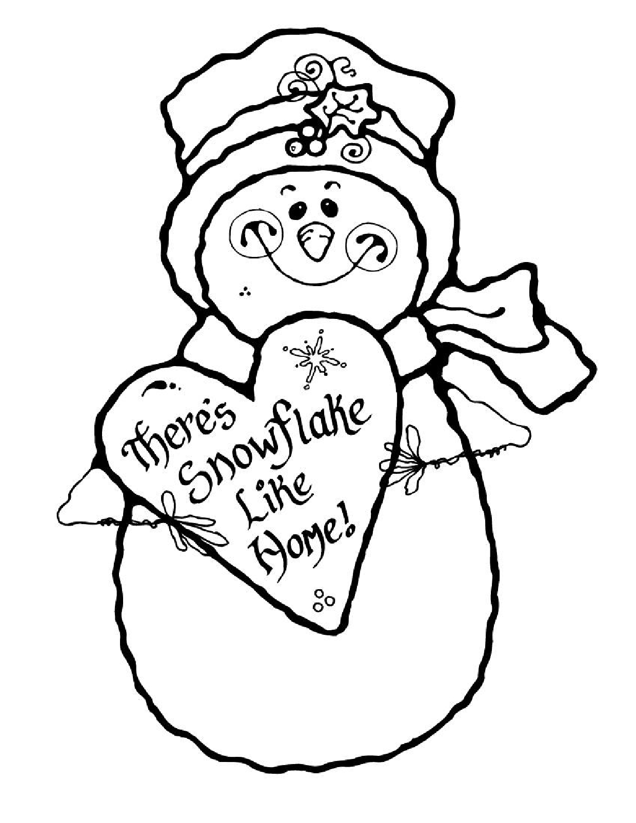 Winter Coloring Pages For Kids at GetDrawings.com | Free for ...