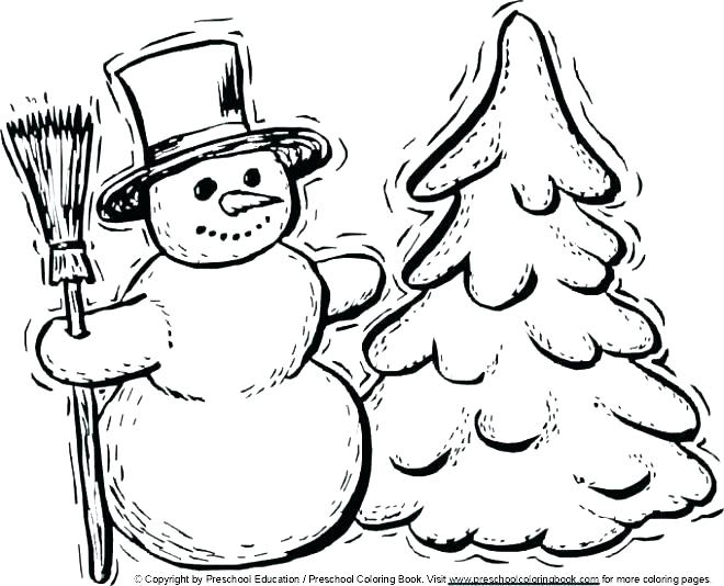 660x534 Winter Coloring Pages Free Winter Coloring Pages The Pooh Winter