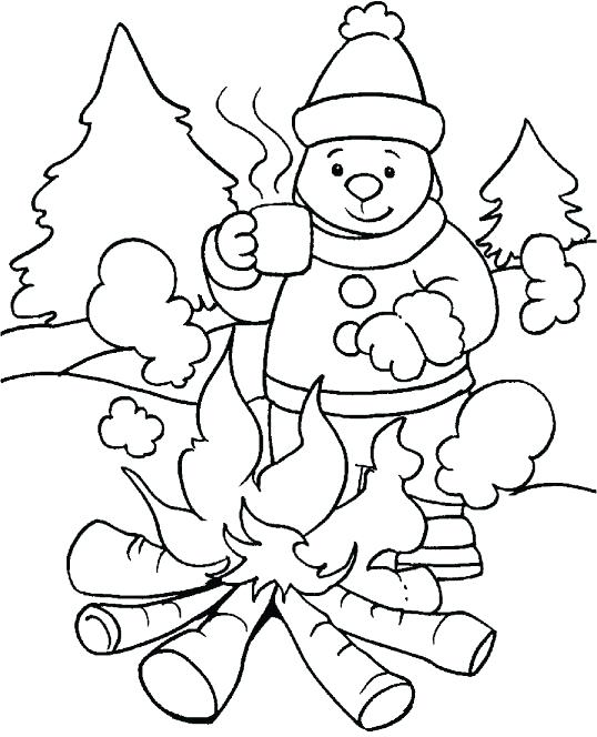 538x664 Preschool Winter Coloring Pages Preschool Coloring Pages Winter