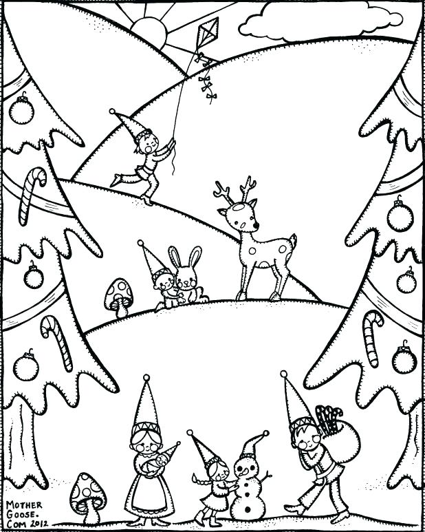 618x773 Coloring Pages Pdf Download Coloring Pages Winter Coloring Pages