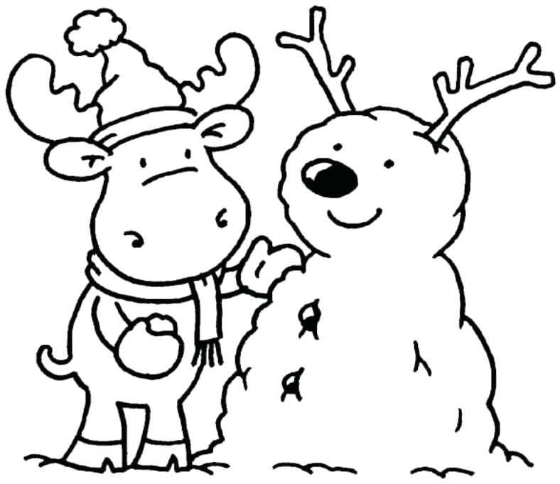 788x681 Free Winter Coloring Pages Free Winter Coloring Pages Free Winter