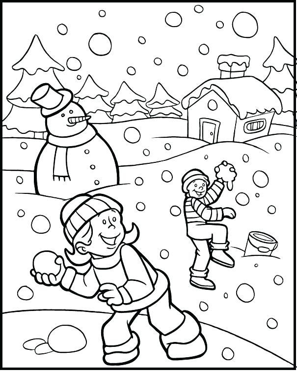 605x754 Penguins Winter Coloring Page For Adults Easy And Fun Penguins