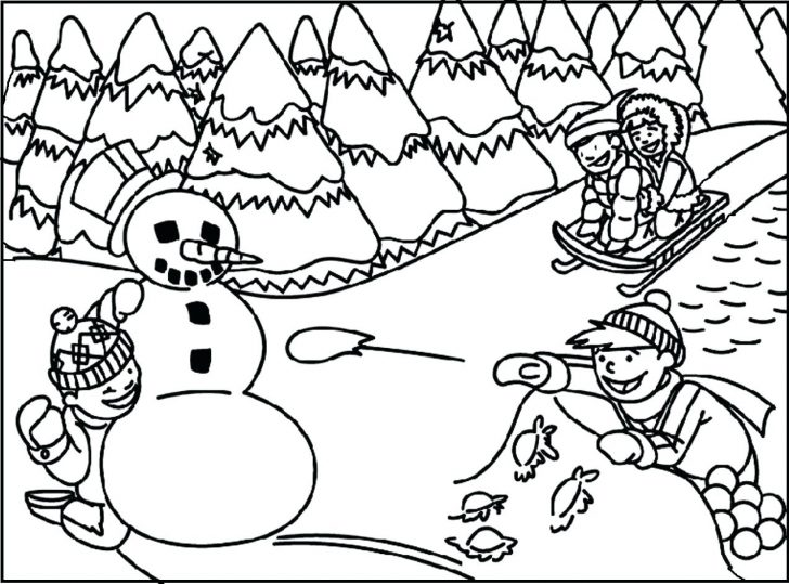 728x539 Winter Boots Coloring Pages To Print Brilliant Gingerbread House